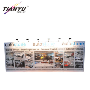 Cina Produsen High Quality Hot Sale musim semi Tampilan Pop up Banner Berdiri