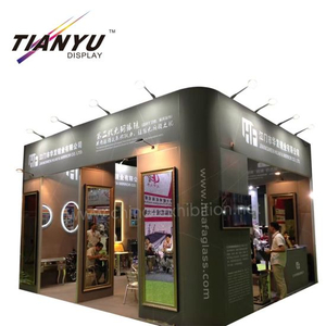 Stand Custom Reusable Booth Modular dan Tool-less Smart Aluminium Trade Show Stand