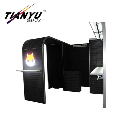 Pameran Booth untuk Show Trade Show Booth Backdrop Dinding